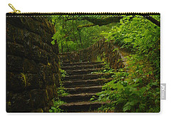 A Stairway To The Green Carry-all Pouch