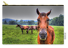 A Starring Horse Carry-all Pouch