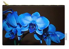 A Stem Of Beautiful Blue Orchids Carry-all Pouch by Sherry Hallemeier
