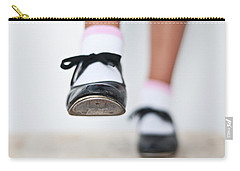 Old Tap Dance Shoes From Dance Academy - A Step Forward Tap Dance Carry-all Pouch by Pedro Cardona