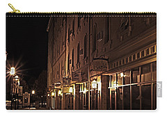 Carry-all Pouch featuring the photograph A Stroll In The City by Deborah Klubertanz
