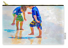 A Summer To Remember Iv Carry-all Pouch by Susan Molnar