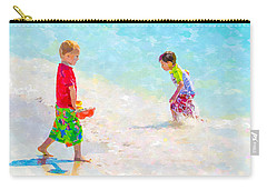 A Summer To Remember V Carry-all Pouch by Susan Molnar