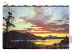A Sunset By Frederick Edwin Church Carry-all Pouch