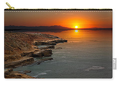 Carry-all Pouch featuring the photograph A Sunset by Lynn Geoffroy