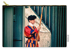 A Swiss Guard Carry-all Pouch by Tom Prendergast