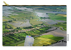 Carry-all Pouch featuring the photograph A Swordfish Aircraft With The Royal Navy Historic Flight. by Paul Fearn
