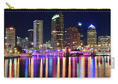 A Tampa Bay Night Carry-all Pouch by Frozen in Time Fine Art Photography