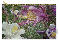 a taste of dew i do and PCC  garden too     GARDEN IN SPRING MAJOR Carry-all Pouch