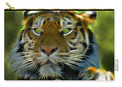A Tiger's Stare II Carry-all Pouch