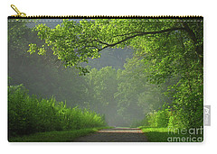 A Touch Of Green II Carry-all Pouch