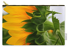 Carry-all Pouch featuring the photograph A Touch Of Shyness by Dora Sofia Caputo Photographic Art and Design
