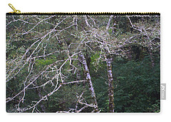 Carry-all Pouch featuring the photograph A Tree Along The Oregon Coast by Tom Janca