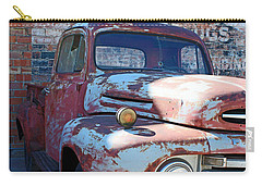 Carry-all Pouch featuring the photograph A Truck In Goodland by Lynn Sprowl