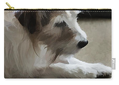 A True Friend Carry-all Pouch by Ron Harpham