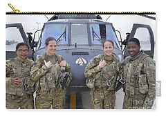 A U.s. Army All Female Crew Carry-all Pouch