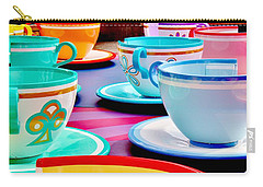 Carry-all Pouch featuring the photograph A Very Merry Unbirthday by Benjamin Yeager