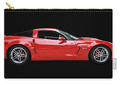 A Very Red Corvette Z6 Carry-all Pouch