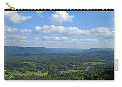 Carry-all Pouch featuring the photograph A View For Days by Aaron Martens