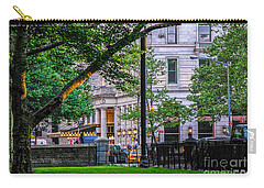 A View From Central Park Carry-all Pouch by Mary Carol Story