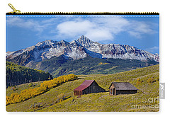 A View From Last Dollar Road Carry-all Pouch by Jerry Fornarotto