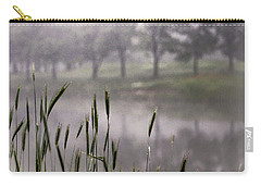 A View In The Mist Carry-all Pouch by Bruce Patrick Smith
