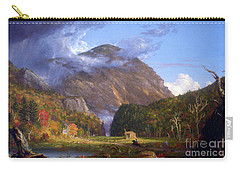 A View Of The Mountain Pass Called The Notch Of The White Mountans By Thomas Cole Carry-all Pouch