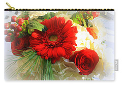 A Vision In Red Carry-all Pouch