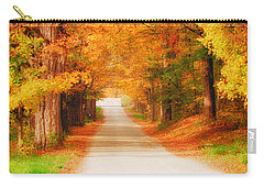 A Walk Along The Golden Path Carry-all Pouch