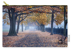 A Walk In Salem Fog Carry-all Pouch