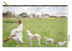 A Walk In The Country Carry-all Pouch by Linda Lees
