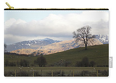 Carry-all Pouch featuring the photograph A Walk In The Countryside In Lake District England by Tiffany Erdman