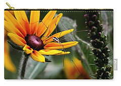 A Walk In The Garden Carry-all Pouch by Sue Stefanowicz
