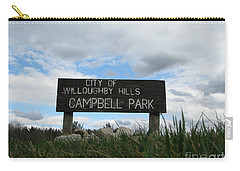 Carry-all Pouch featuring the photograph A Walk In The Park  by Michael Krek