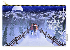 A Walk In The Snow 2 Carry-all Pouch