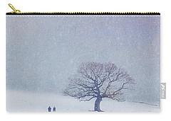 A Walk In The Snow Carry-all Pouch