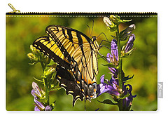 A Warm September Day In The Garden Carry-all Pouch by Byron Varvarigos