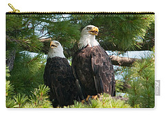 A Watchful Pair Carry-all Pouch