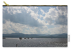 A Weekend On The Water Carry-all Pouch by Barbara Bardzik