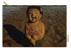 Carry-all Pouch featuring the photograph A Welcoming Friend On My Night Stroll by Mr Photojimsf