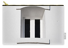 A Window In White Carry-all Pouch by Wendy Wilton