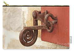 A Window Latch Carry-all Pouch by Kerri Mortenson