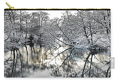 A Winter Scene Carry-all Pouch