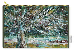 A Winter Tree Carry-all Pouch