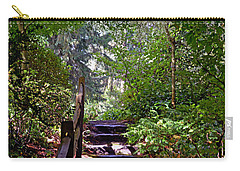 A Wooded Path Carry-all Pouch