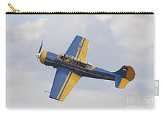 A Yakolev Yak-52 Plane Flying Carry-all Pouch by Timm Ziegenthaler