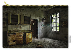 Abandoned Building - Old Asylum - Open Cabinet Doors Carry-all Pouch