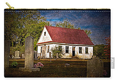 Abandoned Church And Graves Carry-all Pouch