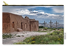 Abandoned Church In Abiquiu New Mexico Carry-all Pouch