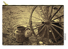 Abandoned - Antique Vintage Carry-all Pouch